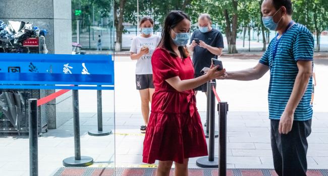 图书馆开展疫情防控应急演练